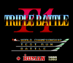 F1 Triple Battle title screenshot