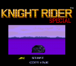 Knight Rider Special title screenshot