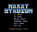 Naxat Stadium title screenshot