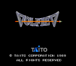 Volfied title screenshot