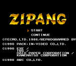 Zipang title screenshot