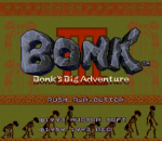 Bonk 3 - Bonk's Big Adventure title screenshot