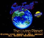 Sim Earth - The Living Planet title screenshot