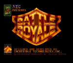 Battle Royale title screenshot