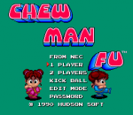 Chew Man Fu title screenshot