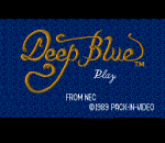 Deep Blue title screenshot