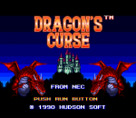 Dragon's Curse title screenshot