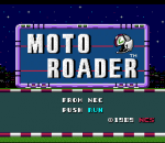 Moto Roader title screenshot