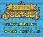 Somer Assault title screenshot