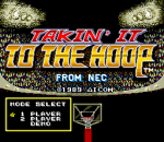 Takin' It to the Hoop title screenshot