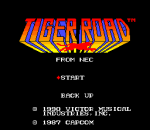 Tiger Road title screenshot