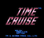 Time Cruise title screenshot