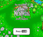Adventures of Jimmy Neutron Boy Genius vs. Jimmy Negatron, The title screenshot