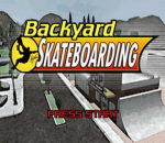 Backyard Skateboarding title screenshot