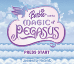 Barbie and the Magic of Pegasus title screenshot