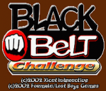 Black Belt Challenge title screenshot