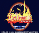 Castlevania - Aria of Sorrow title screenshot