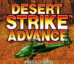 Desert Strike Advance title screenshot