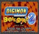 Digimon - Battle Spirit 2 title screenshot