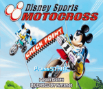 Disney Sports - Motocross title screenshot