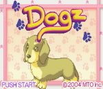 Dogz title screenshot