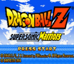 Dragon Ball Z - Supersonic Warriors title screenshot