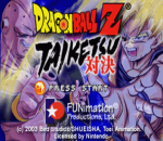 Dragon Ball Z - Taiketsu title screenshot