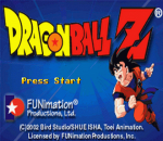 Dragon Ball Z - The Legacy of Goku title screenshot