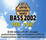 ESPN Great Outdoor Games - Bass 2002 title screenshot