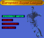 European Super League title screenshot
