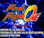 Final Fight One title screenshot