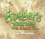 Frogger's Journey - The Forgotten Relic title screenshot