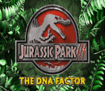 Jurassic Park III - The DNA Factor title screenshot