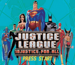Justice League - Injustice for All title screenshot