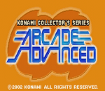 Konami Collector's Series - Arcade Advanced title screenshot