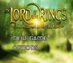 Lord of the Rings, The - The Fellowship of the Ring title screenshot