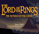 Lord of the Rings, The - The Return of the King title screenshot