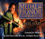 Medal of Honor - Underground title screenshot
