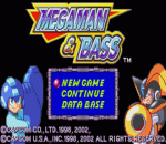 Mega Man & Bass title screenshot