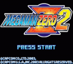 Mega Man Zero 2 title screenshot