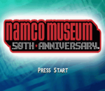 Namco Museum - 50th Anniversary title screenshot