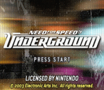 Need for Speed - Underground title screenshot