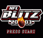 NFL Blitz 20-03 title screenshot