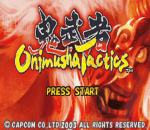 Onimusha Tactics title screenshot