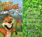 Over the Hedge - Hammy Goes Nuts! title screenshot