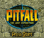 Pitfall - The Lost Expedition title screenshot