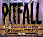 Pitfall - The Mayan Adventure title screenshot