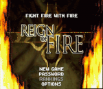 Reign of Fire title screenshot