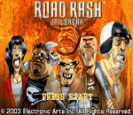 Road Rash - Jailbreak title screenshot