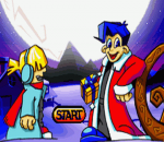 Santa Claus Jr. Advance title screenshot